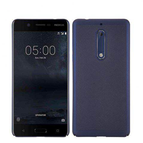 Shops Heat Dissipation Ultra-thin Frosted Back Cover Solid Color Hard PC Case for Nokia 5