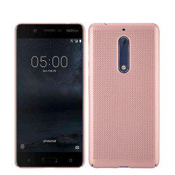 Heat Dissipation Ultra-thin Frosted Back Cover Solid Color Hard PC Case for Nokia 5 -