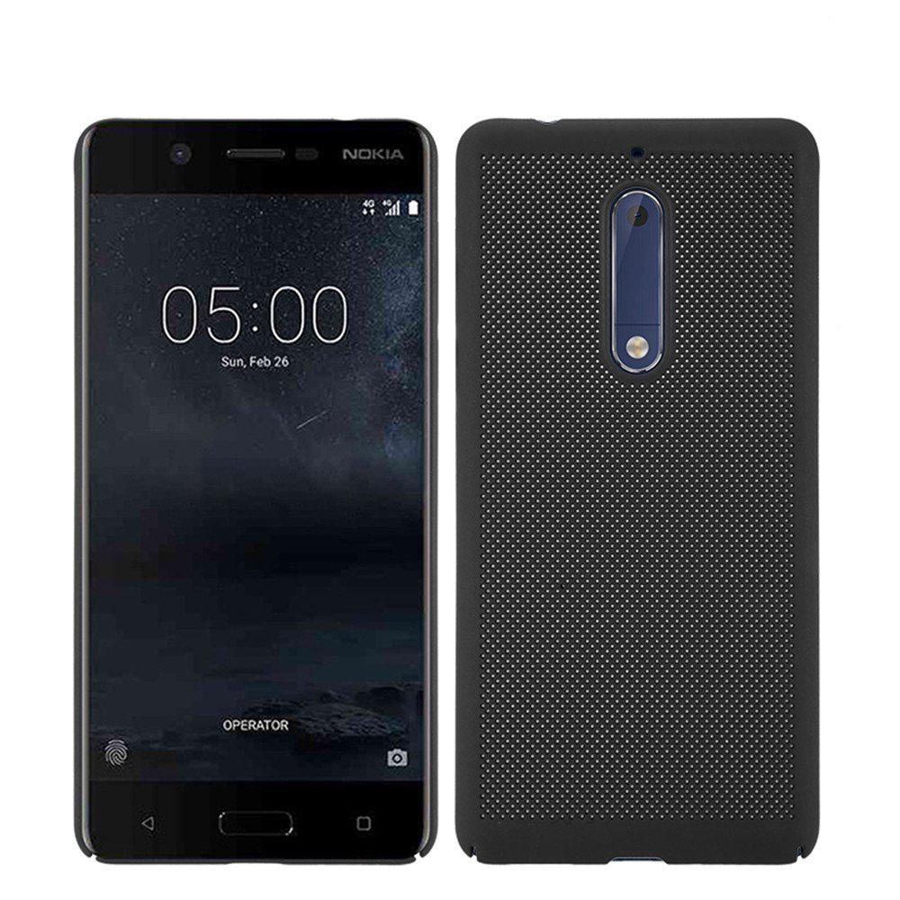 Shop Heat Dissipation Ultra-thin Frosted Back Cover Solid Color Hard PC Case for Nokia 5