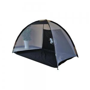 Outdoor Folding Target Net Golf Exercise Set Ball Indoor Strike Tent -
