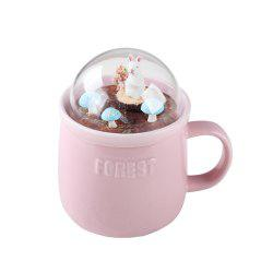 400ML Creative Forest Landscape Ceramic Cup -