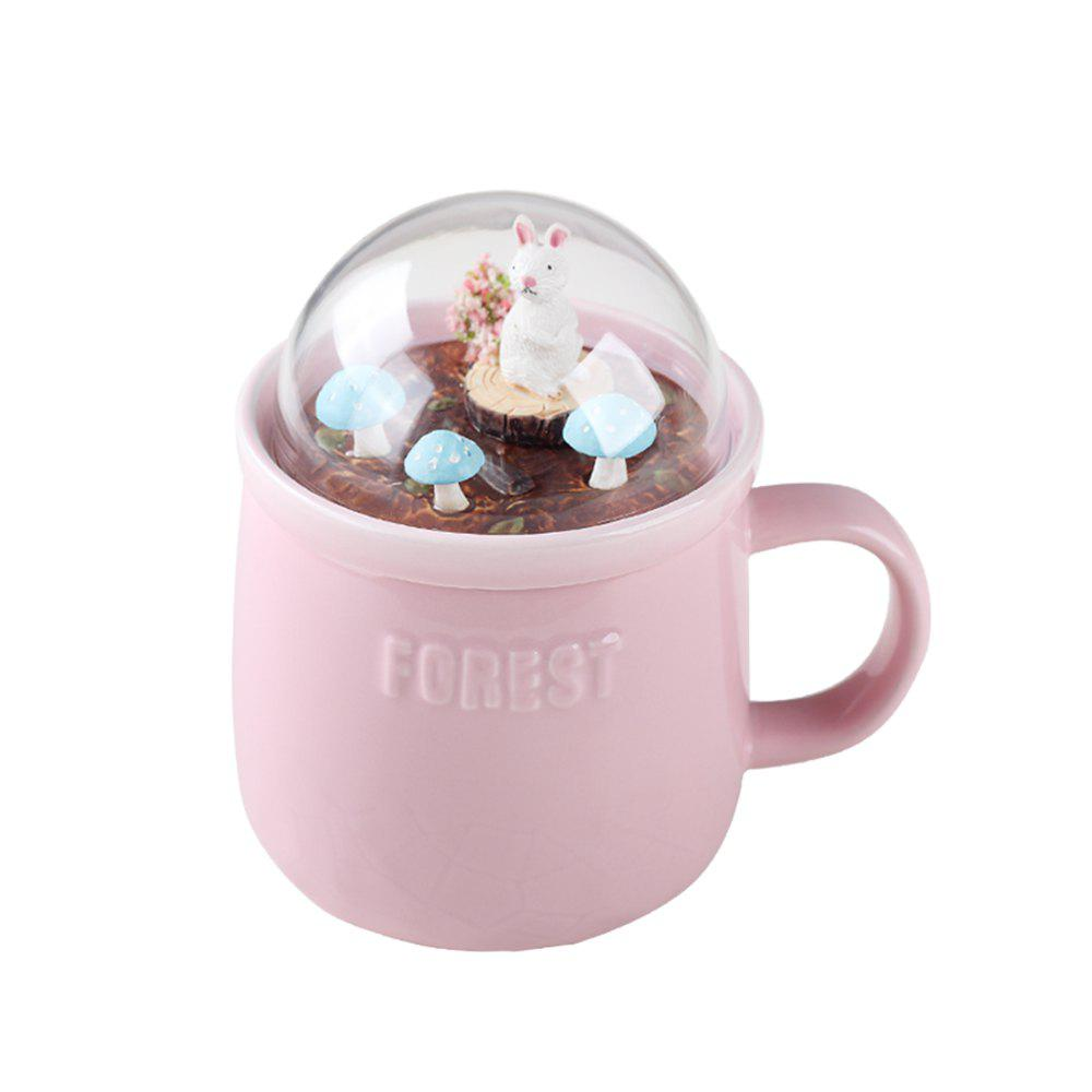 Hot 400ML Creative Forest Landscape Ceramic Cup