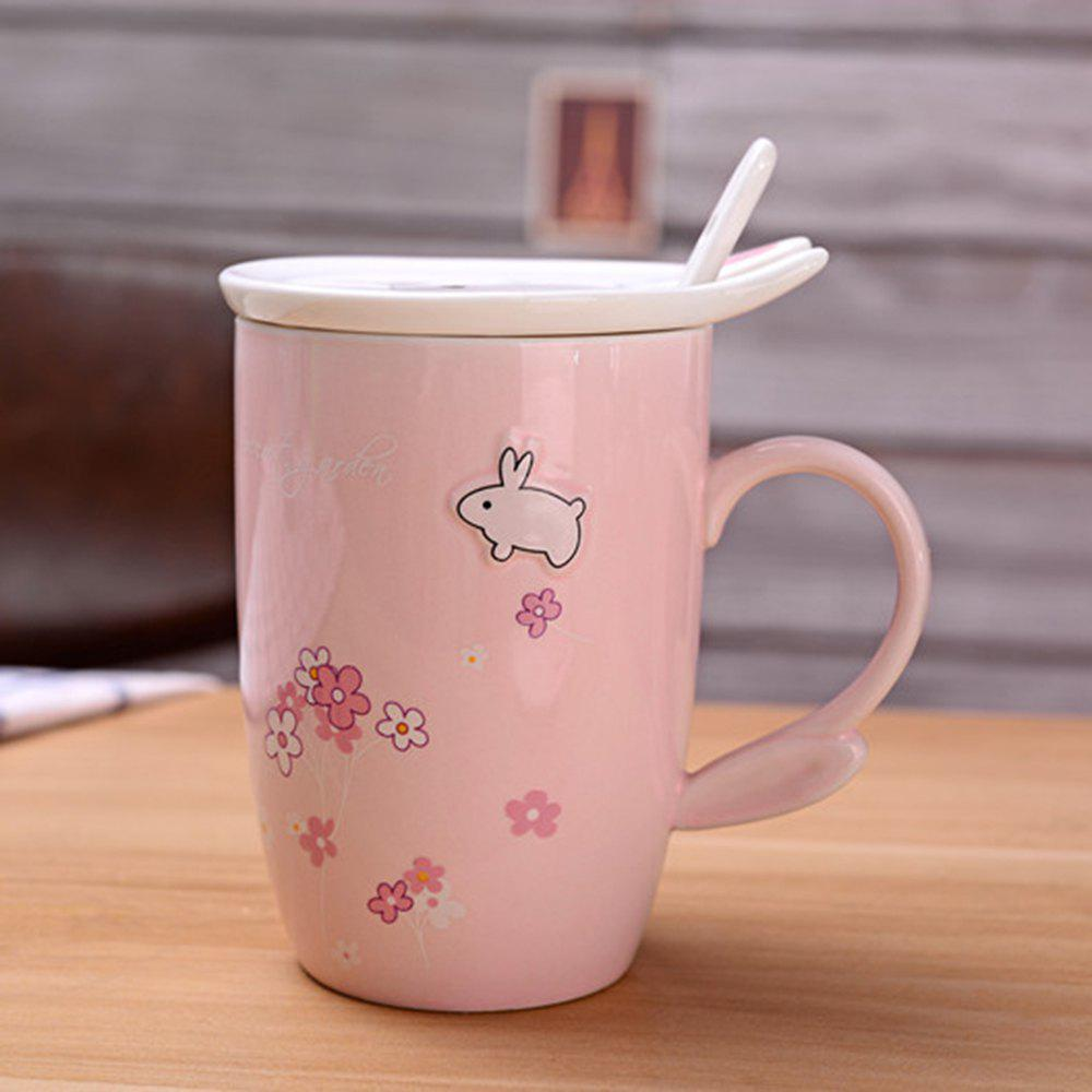 Affordable 450ML Cherry Blossom Breakfast Mug