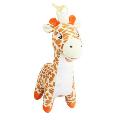 Shops Giraffe Style Plush Toy with Music