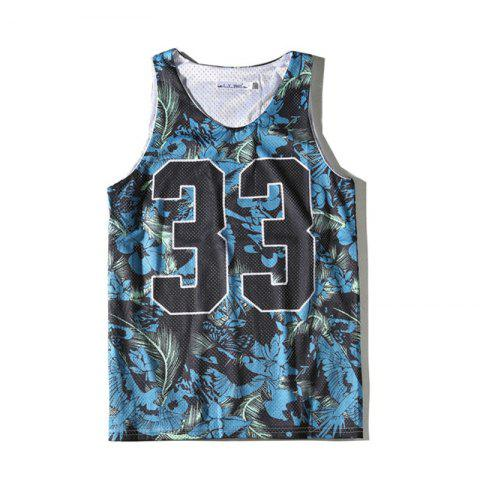 Online Men's Sports Quick-dry Double Mesh Tank Top