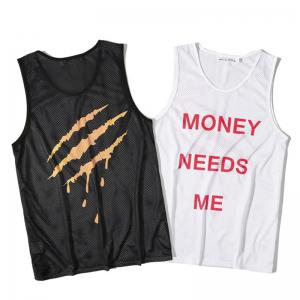 Men's Digital Print Claw Movement Tank Top -