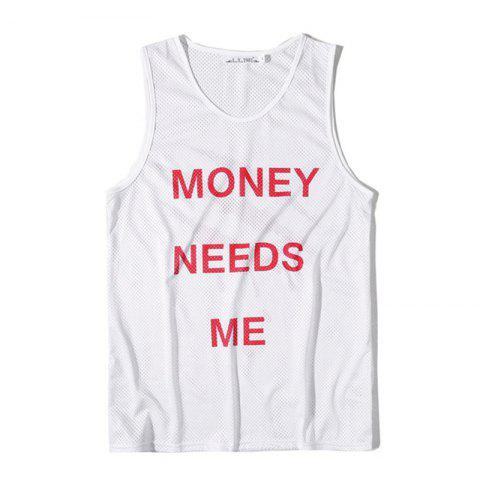 Shop Men's Digital Print Claw Movement Tank Top