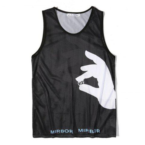 Online Men Print Quick-drying Tank Top