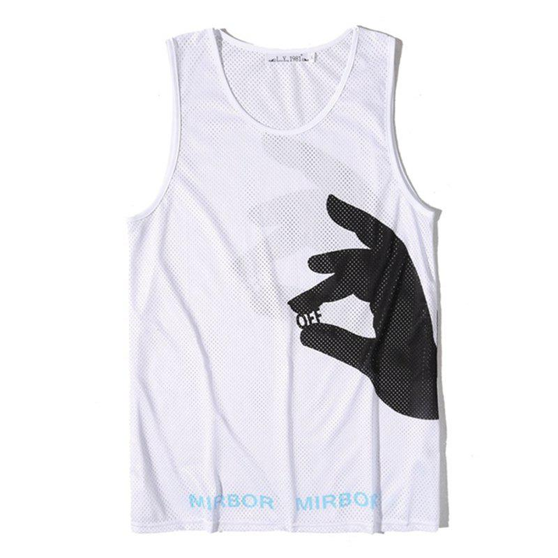 Best Men Print Quick-drying Tank Top