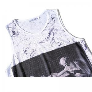 Men's 3D Digital Printed Single-layer Tank Top -