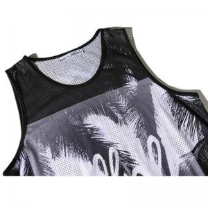 Men's Coconut Printed Sports Tank Top -