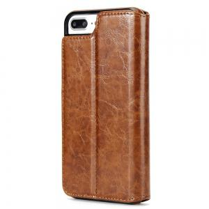 Stone Grain Wallet Stent Bumpers for iPhone 7 -