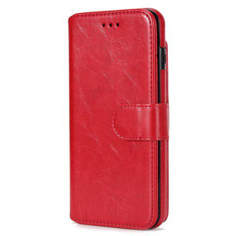Outfits Stone Grain Wallet Stent Bumpers for iPhone 7