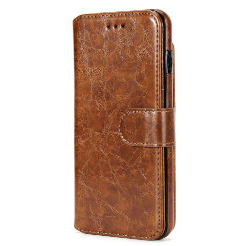 New Stone Grain Wallet Stent Bumpers for iPhone 7