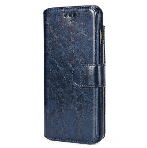Trendy Stone Grain Wallet Stent Bumpers for iPhone 7