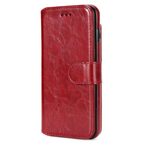 Buy Stone Grain Wallet Stent Bumpers for iPhone 7