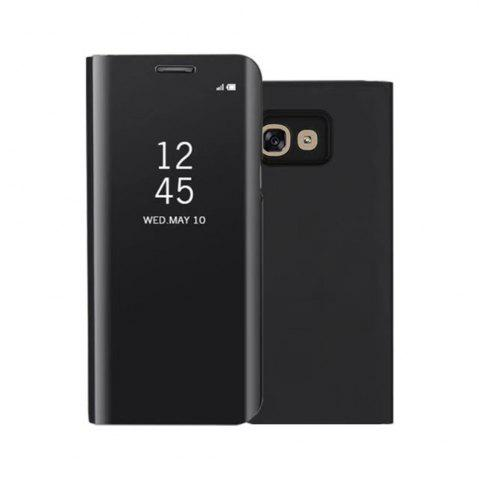 Latest PU Leather Smart Clear View Flip Cover with Kickstand for Samsung Galaxy A3 2017