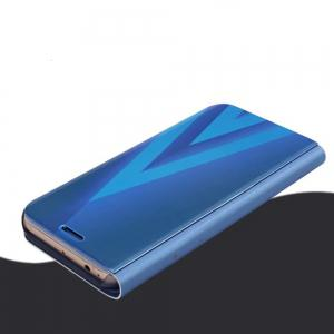 PU Leather Smart Clear View Flip Cover with Kickstand for Samsung Galaxy A5 2017 -