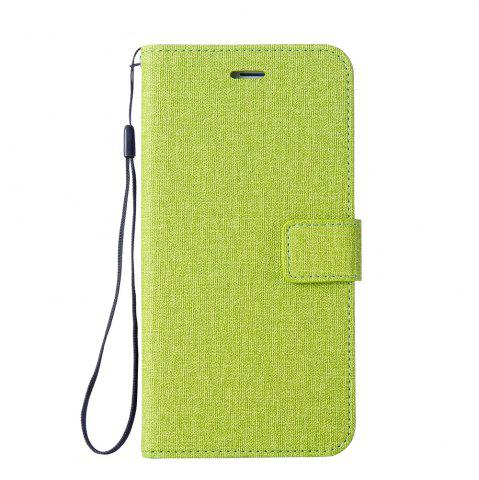 Fancy Cotton Pattern Leather Case for iPhone 6 Plus