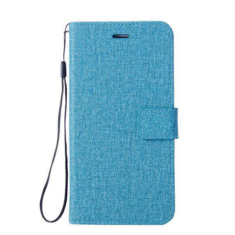 Hot Cotton Pattern Leather Case for iPhone 6 Plus