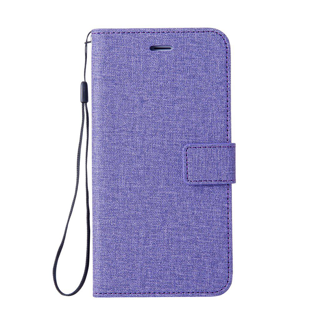 Affordable Cotton Pattern Leather Case for iPhone 6 Plus