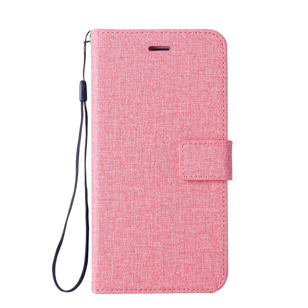 Store Cotton Pattern Leather Case for MOTO G4 PLAY