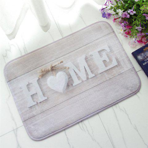 Trendy Creative Home Pattern Antiskid Floor Mat