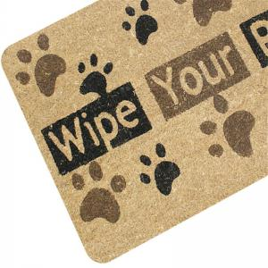 Creative Wipe Your Paws Pattern Antiskid Floor Mat -