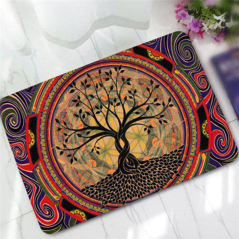 Cheap Creative Tree Pattern Antiskid Floor Mat
