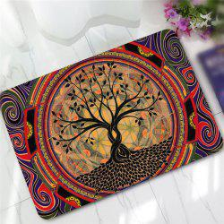 Creative Tree Pattern Antiskid Floor Mat -