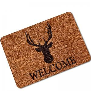 Creative Deer Pattern Antiskid Floor Mat -