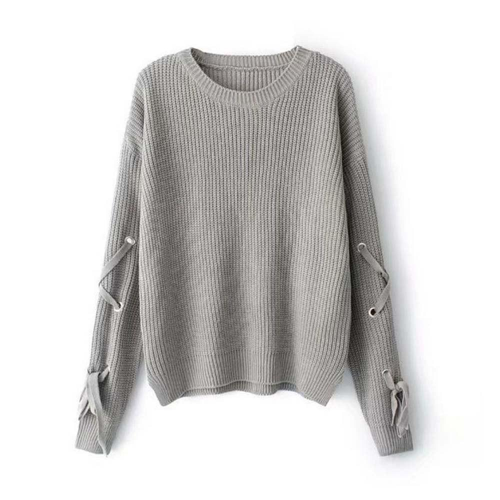Outfits Female Band Long Sleeved Turtleneck Sweater Loose Solid