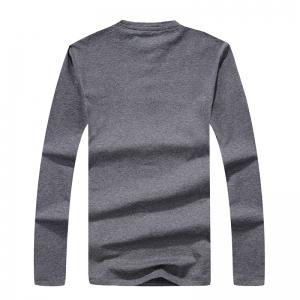 Men's Fashion Personality Button Slim Long-Sleeved T-Shirt -