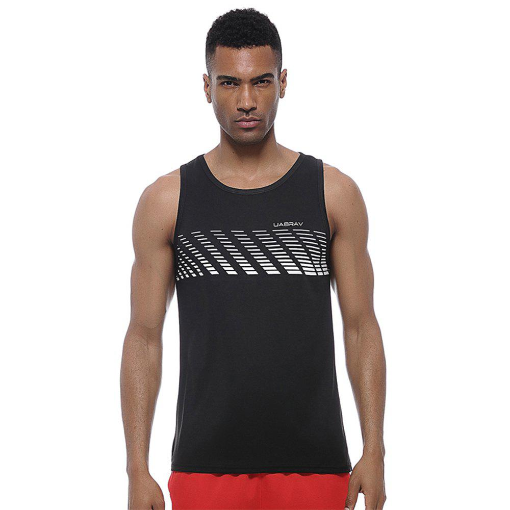Hot Men's  Quick-drying Running Vest Comfortable Sports  Clothes Without Sleeves