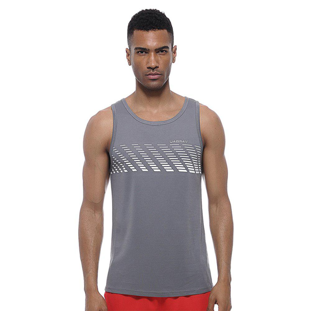 Affordable Men's  Quick-drying Running Vest Comfortable Sports  Clothes Without Sleeves