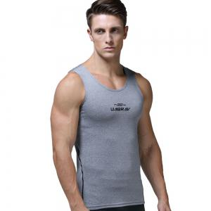 Quick-drying Tights Vest for Men Elastic Absorb Sweat Breathable Basketball Training -