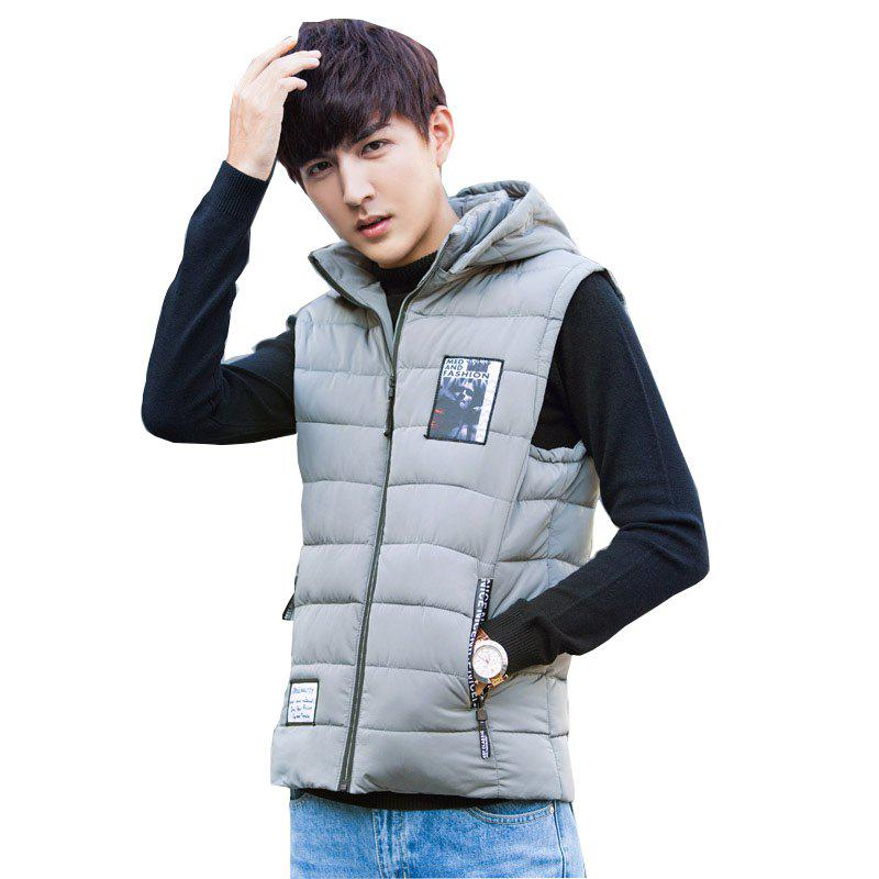 Fashion Men's Fashion Hooded Sport Vest