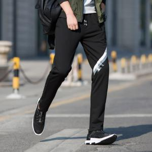 Men's Color Straight Tube Sports Casual Pants -