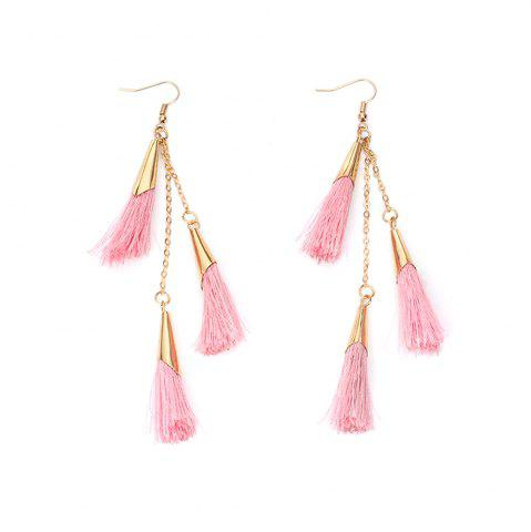 Best 2017 New Ethnic Exaggerated Multilayer Tassel Earrings