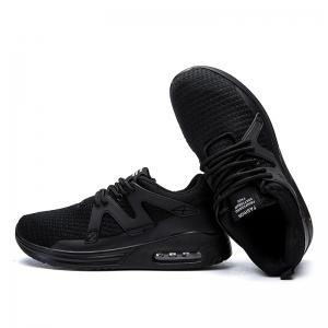 Hommes Casual Fashion Mesh Toile respirante Lace Up Chaussures plates solides athlétiques -