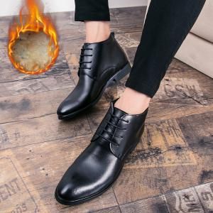 Business Chaud en cuir doux chaussures de plein air officiel britannique occasionnel -