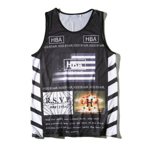 Outfits Men's Spotrs Qiuck-drying Fitness Tank Top