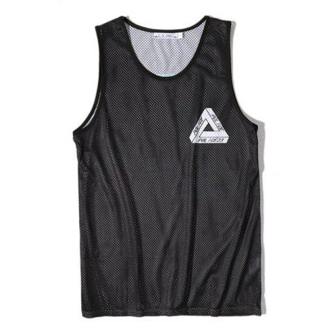 Online Men's Digital Printing Leisure Sports Tank Top