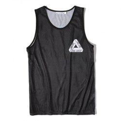 Men's Digital Printing Leisure Sports Tank Top -