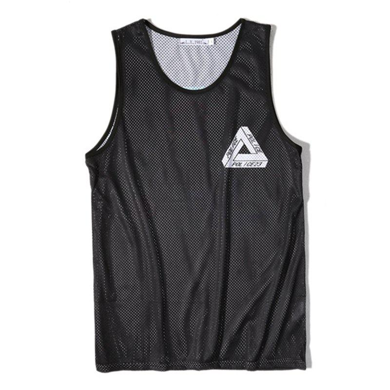 Affordable Men's Digital Printing Leisure Sports Tank Top