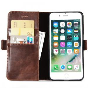 Crazy Ma  Wallet Phone Sets Stent for iPhone 7 Plus -