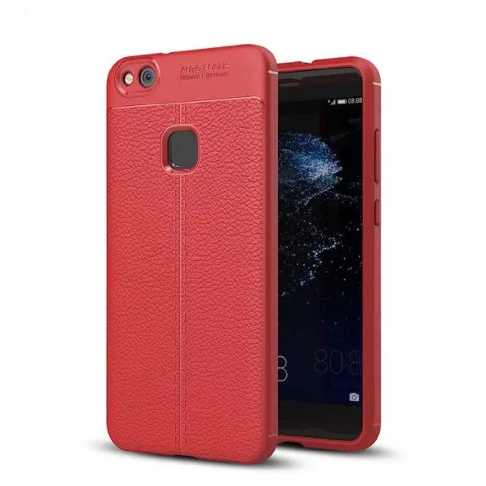 Sale Luxury Leather Business Litchi Pattern PU Soft TPU Cover Case For Huawei P10 Lite