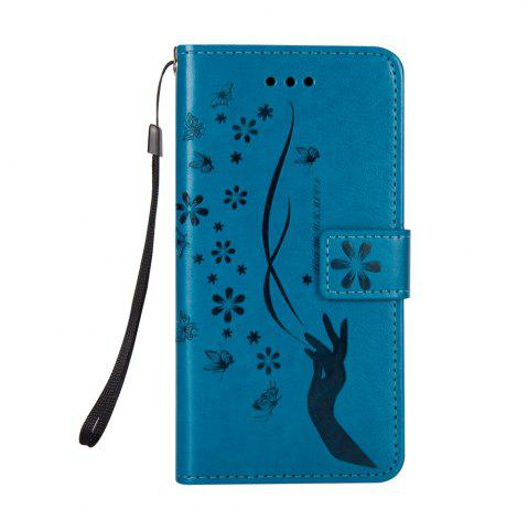 Affordable Slender Hand PU Leather Dirt Resistant Phone Case for iPhone X