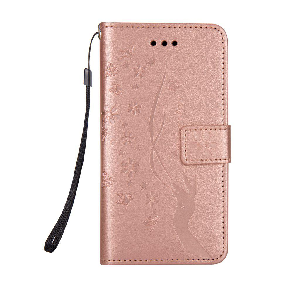 Buy Slender Hand PU Leather Dirt Resistant Phone Case for iPhone X