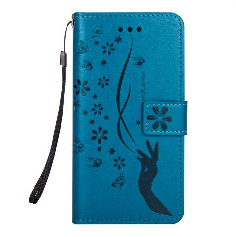 Shop Slender Hand PU Leather Dirt Resistant Phone Case for iPhone 8